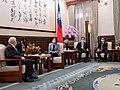 08.06 總統接見「尼加拉瓜共和國駐臺大使達比亞」 (50194382582).jpg