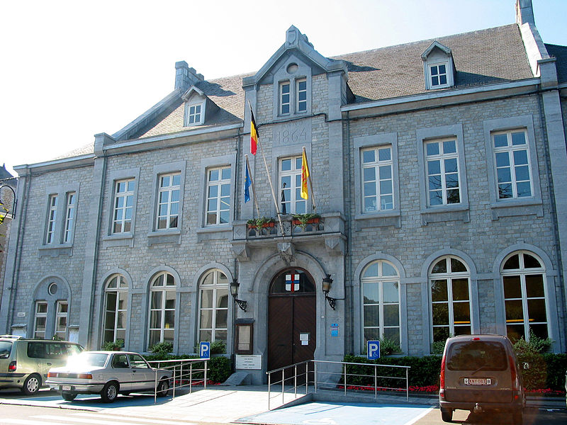 Profondeville (Belgium), the town hall (1864).