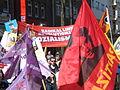 1. Mai 2013 in Hannover. Gute Arbeit. Sichere Rente. Soziales Europa. Umzug vom Freizeitheim Linden zum Klagesmarkt. Menschen und Aktivitäten (094).jpg