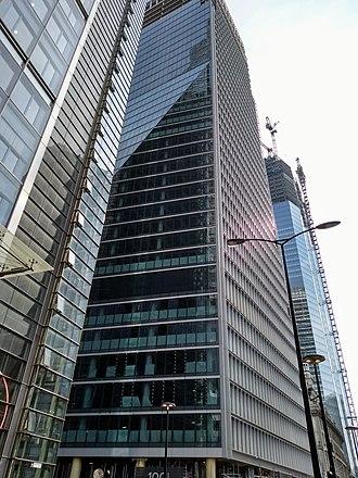 100 Bishopsgate - Under construction