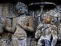 100e a God holds an Umbrella over the Buddha (28474700070).jpg