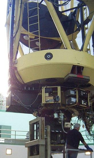 C. Donald Shane telescope - Image: 120inch reflector maint Lick Observatory