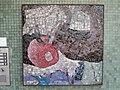 1210 Autokaderstraße 3-7 Tomaschekstraße 44 Stg 14 - Mosaik-Hauszeichen Farbige Komposition von Anton Karl Wolf 1968 IMG 0940.jpg