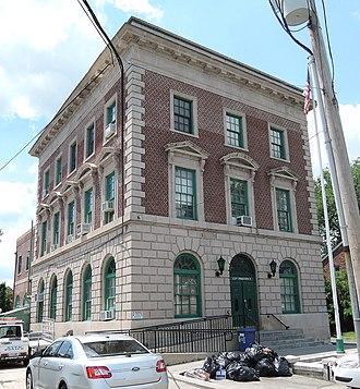 Tottenville, Staten Island - 123rd Precinct, on Main Street