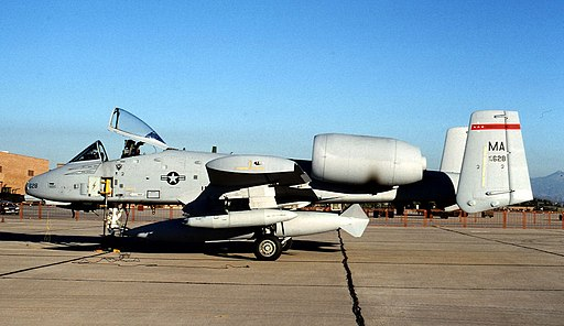 131st Tactical Fighter Squadron - Fairchild Republic A-10A Thunderbolt II 78-0628