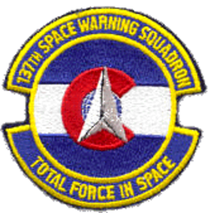 137th Space Warning Squadron - Image: 137th Space Warning Squadron