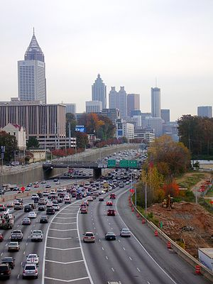 Downtown Connector - Image: 13 Atlanta
