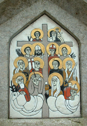 Saint Blaise - The Fourteen Holy Helpers.