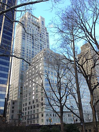 Dmitry Rybolovlev - 15 Central Park West as viewed from Central Park in 2013.