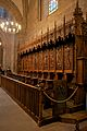 15th century choir stalls, St Peter's cathedral.jpg