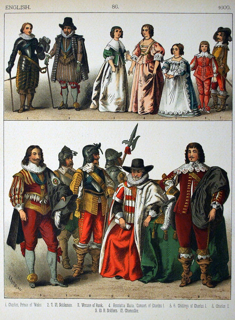 File 1600 English 086 Costumes Of All Nations 1882
