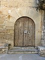 164 Castell de Rocafort de Vallbona, portal.jpg