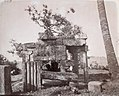 1875 photo of Hindu temple ruins at Mandaur, Gaya District, Bihar.jpg