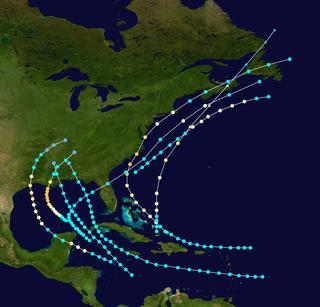 1879 Atlantic hurricane season hurricane season in the Atlantic Ocean