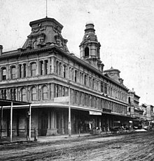Central Business District Los Angeles 1880s 1890s