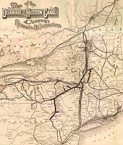 Delaware And Hudson Railway Wikipedia - The history of delaware