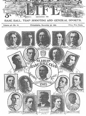 1905 St. Louis Cardinals season - The 1905 St. Louis Cardinals