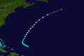 1921 Atlantic hurricane 4 track.png