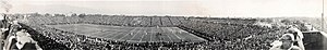 1921 Rose Bowl - Image: 1921 Rose Bowl