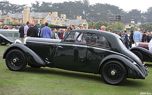 A C Bertelli - 1935 fixed head coupé by Bertelli of Feltham on a Bentley 3½-litre chassis
