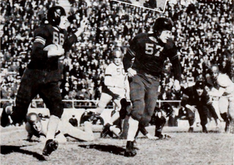 1940 Cotton Bowl Classic - Banks McFadden carries the ball for Clemson