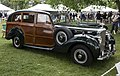 """1949 Bentley Mark VI Shooting Brake """"Continental Touring Sedan"""" by Rippon Bros, Greenwich 2018 (front right side).jpg"""