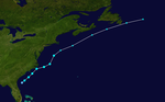 1954 Atlantic tropical storm 1 track.png