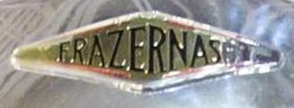 Frazer Nash - Badge on a 1954 car
