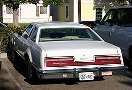 1977 Ford Thunderbird, rear view.jpg