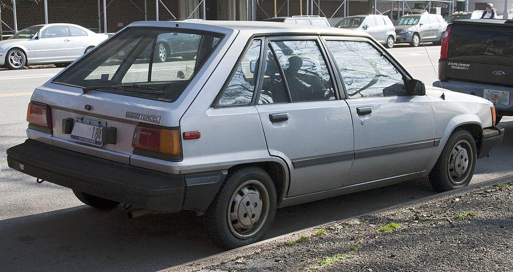 File:1985 Toyota Tercel 5dr.jpg - Wikimedia Commons