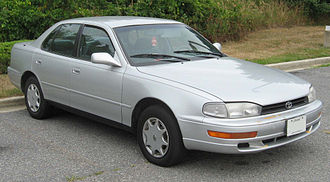Mid-size car - Designed for US-market, the mid-sized 1992-1994 Toyota Camry