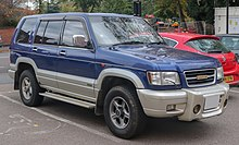 isuzu trooper wikipedia. Black Bedroom Furniture Sets. Home Design Ideas