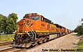 1 2 BNSF 4434 Leads WB Covered Hopper Olathe, KS 9-4-17 (36905100516).jpg