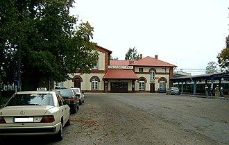 Rzepin railway station - Rzepin railway station