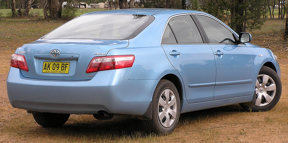 toyota camry 2.4 elegance-at