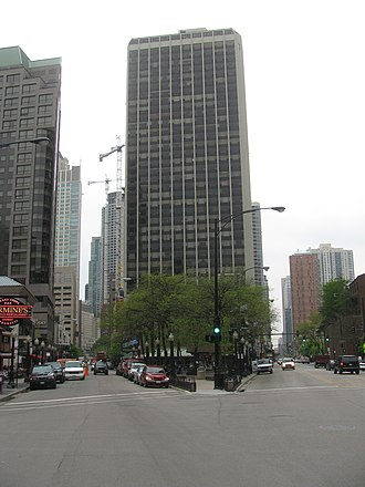 Rush Street (Chicago) - Endpoint at State Street (2008-05-14)