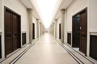 Sejm and Senate Complex of Poland - Marshal Corridor