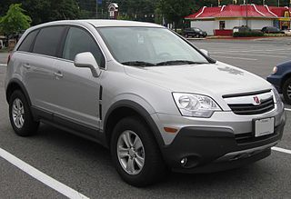 Saturn Vue Compact sport utility vehicle manufactured by Saturn
