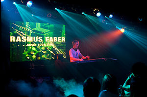 Rasmus Faber - Rasmus Faber performing in Japan