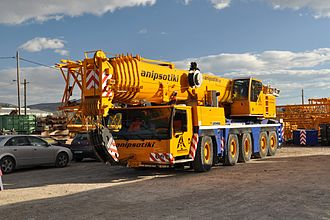 Mobile crane - A Liebherr LTM 1200-5.1 Crane