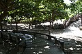 2010 07 16110 5629 Taitung City, Taiwan, Walking paths, Information boards, Concrete paving slabs.JPG