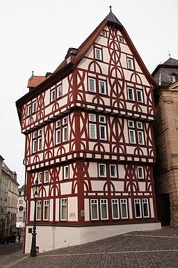 Stiftsplatz in Aschaffenburg