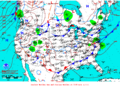 2012-02-02 Surface Weather Map NOAA.png