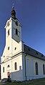 2013 Hawierzów, Błędowice, Kościół ewangelicko-augsburski 03.jpg