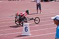 2013 IPC Athletics World Championships - 26072013 - Catherine Debrunner of Switzerland during the Women's 400M - T53 second semifinal 12.jpg