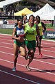 2013 IPC Athletics World Championships - 26072013 - Jerusa Santos and Luiz Henrique Silva of Brasil during the Women's 200m - T11 third semifinal.jpg