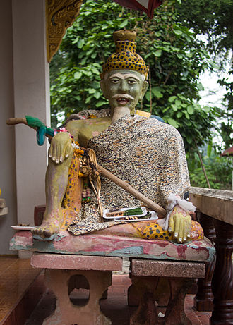 Rishi - A statue of a Ruesi at Wat Suan Tan in Nan, Thailand