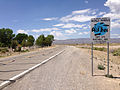 2014-07-18 12 23 57 Sign advertising the Little A'Le'Inn along northbound Nevada State Route 375 in Crystal Springs, Nevada.JPG