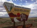 2014-07-18 16 53 27 Sign at the beginning of the Black Rock Lava Flow Back Country Byway.JPG