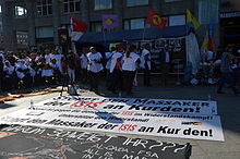 2014-10-05 Demonstration in Köln von Kurden gegen IS-Terror in Kobane (100).JPG